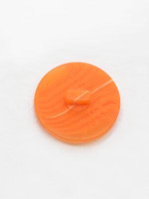 Пуговица большая оранжевая с светлой полоской (р1390) - Фото 14