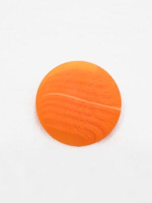 Пуговица большая оранжевая с светлой полоской (р1390) - Фото 13