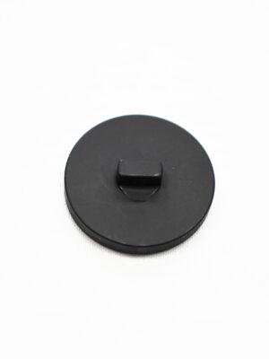 Пуговица пластик большая черная (р1393) - Фото 12