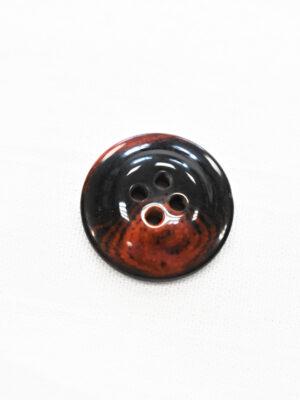 Пуговица черная с красными вкраплениями (р1205, р1336) - Фото 21