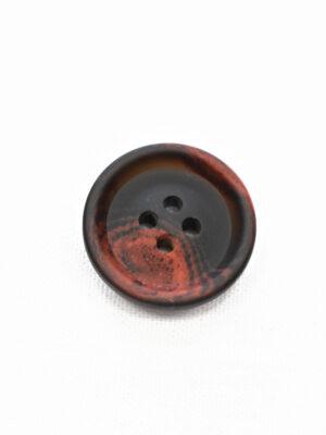 Пуговица черная с красными вкраплениями (р1205, р1336) - Фото 20