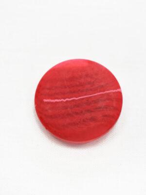 Пуговица большая цвет красный с разводами (р1400) - Фото 10