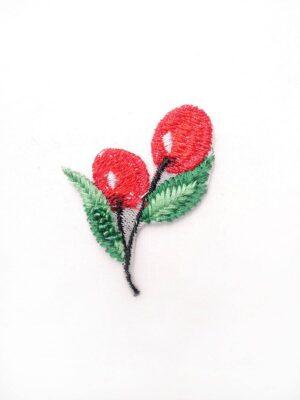 Аппликация вишни вышивка бисер (t0450) А-1 - Фото 9
