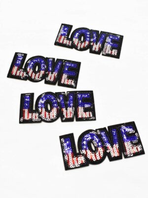 Термо аппликация LOVE (t0788) - Фото 12