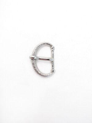 Пряжка металл серебро маленькая (p0001) - Фото 20