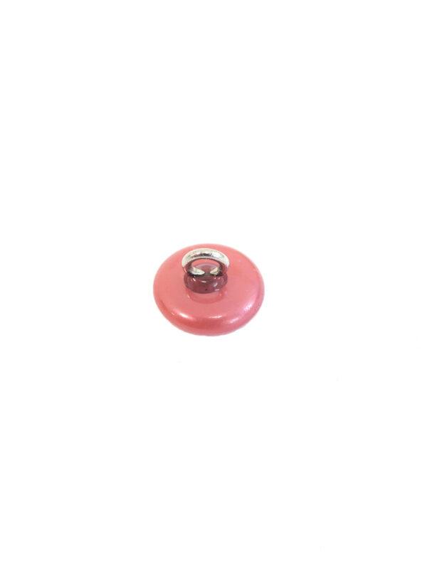 Пуговица пластиковая на металлической ножке пыльная роза (P0046) к11 - Фото 7