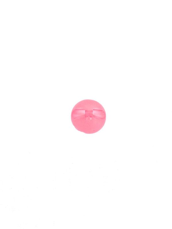Пуговица пластиковая круглая малиново-розовая (P0055) к-2 - Фото 7