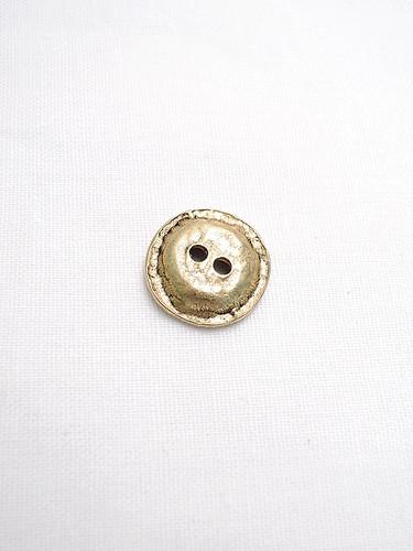 Пуговица металлическая старое золото малая (p0121) к1 - Фото 7