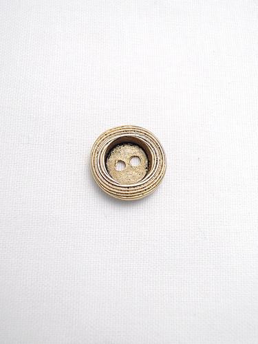 Пуговица металлическая старое золото малая (p0121) к1 - Фото 6