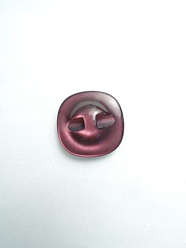Пуговица пластик малиновый перламутр квадратная (p0143) к17н - Фото 7