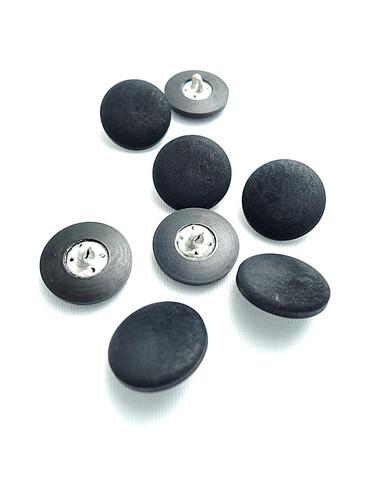 Пуговица пластик на металлической ножке черная (p0144) к17в - Фото 8