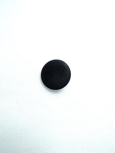 Пуговица пластик на металлической ножке черная (p0144) к17в - Фото 6