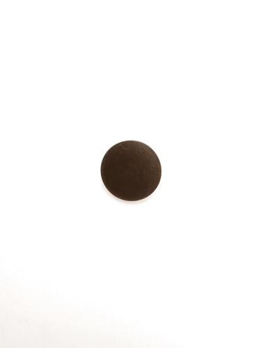 Пуговица маленькая круглая пластик на металлической ножке коричневая (p0145) к17в - Фото 6