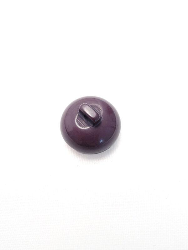 Пуговица пластик фиолетовая объемная (p0150) к17н - Фото 7