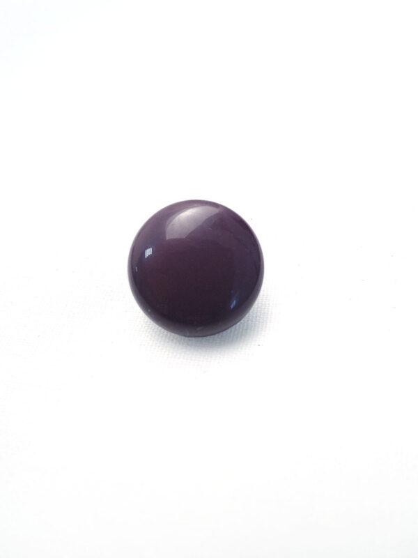 Пуговица пластик фиолетовая объемная (p0150) к17н - Фото 6