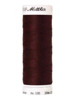 Универсальная нить AMANN GROUP METTLER Германия, SERALON, 200 м (цвет красно-коричневый 0166) - Фото 15