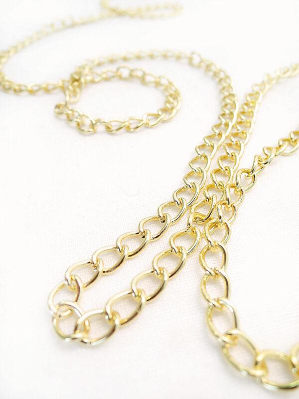 Цепь золотая на блистере (t0191) Д-1 - Фото 7
