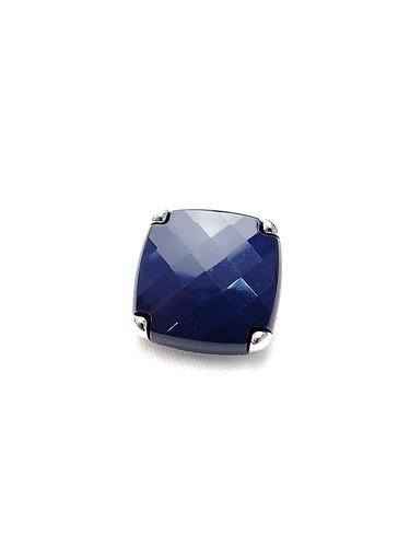 Пуговица сталь квадратная темно-синяя (p0203) к15н - Фото 6