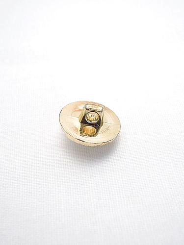 Пуговица пластик золото с жемчужиной и стразами (p0205) к21 - Фото 7