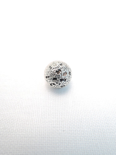 Пуговица маленькая металл серебро (p0209) к14н - Фото 6