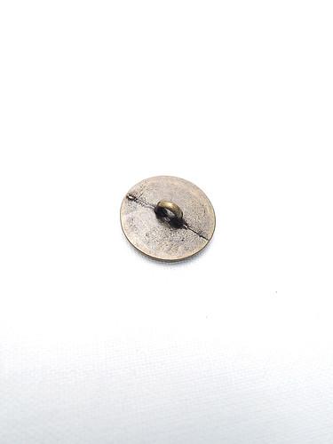 Пуговица металл бронза с полосками (p0218) к14н - Фото 7