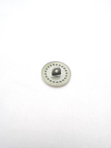 Пуговица металл эмаль молочного оттенка (p0222) к14н - Фото 7