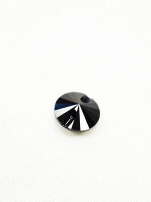 Пуговица черная кристалл Swarovski (p0226) к22 - Фото 12