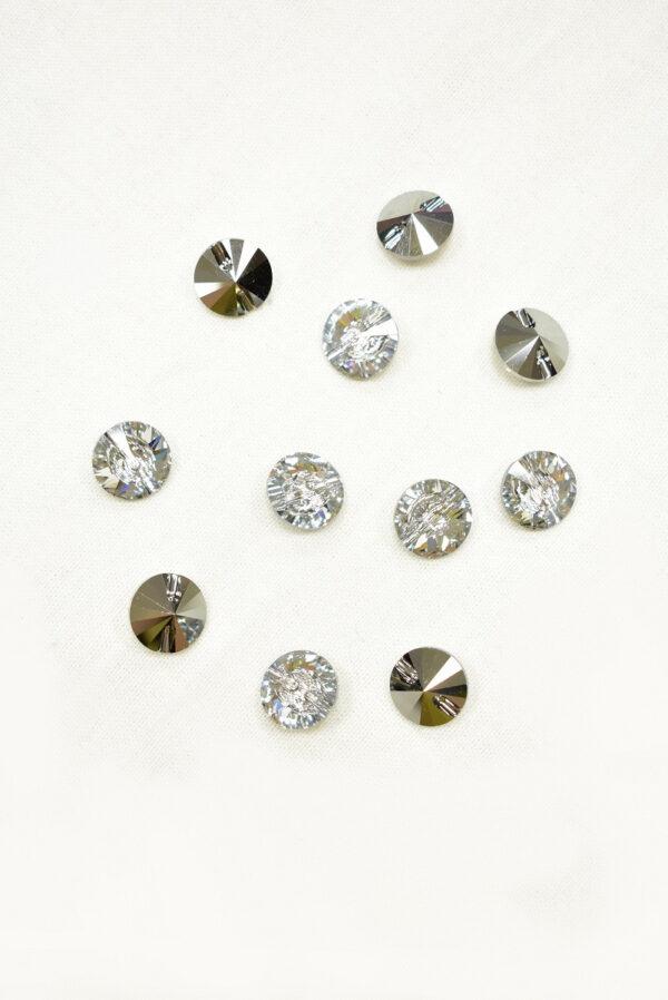 Пуговица кристалл Сваровски (p0227) к22 - Фото 8