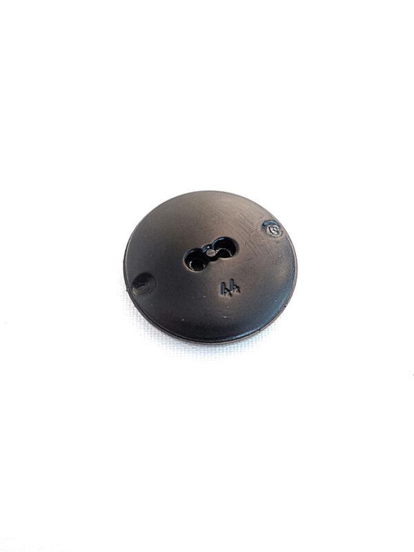 Пуговица пластик черная с ромбами (p0241) к21 - Фото 7