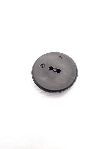 Пуговица пластик черная с квадратиками по кругу (p0242) к21 - Фото 7