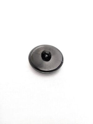 Пуговица пластик черная с резьбой рельефная (p0243) к21 - Фото 15