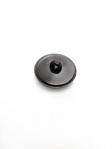 Пуговица пластик черная с резьбой рельефная (p0243) к21 - Фото 7