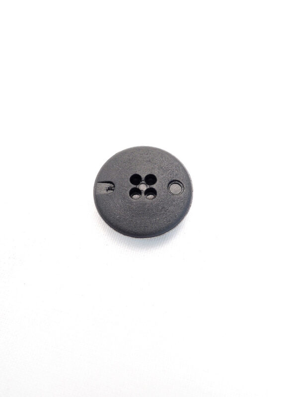 Пуговица пластик черная с камнями (p0245) к21 - Фото 7