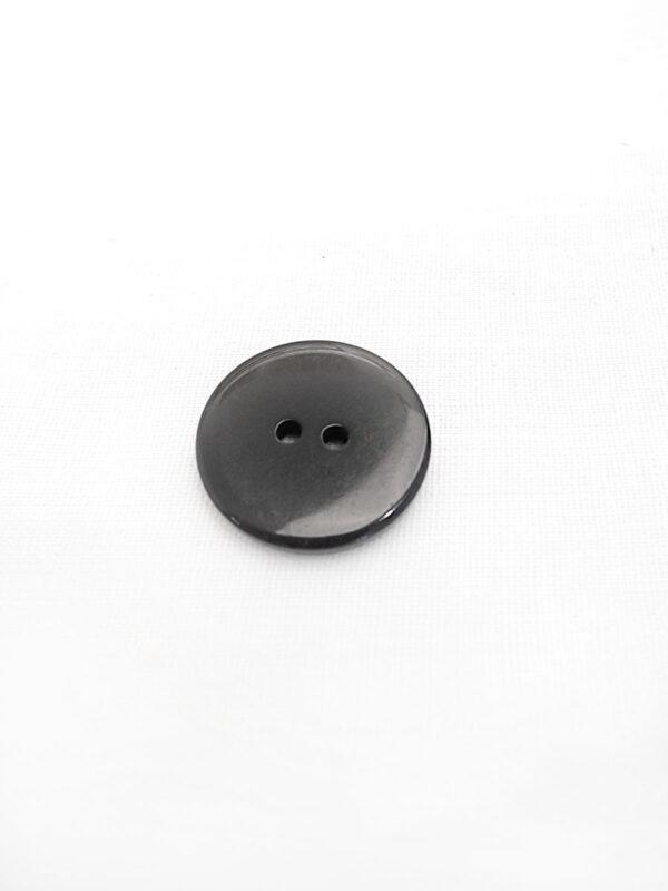 Пуговица пластик черная с овалами (p0248) к16в - Фото 7