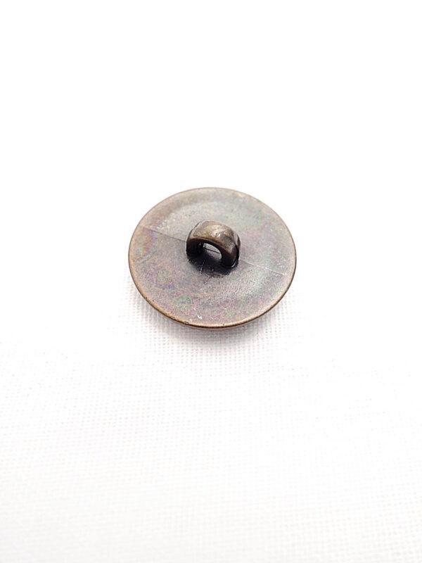 Пуговица пластик бронзовая с завитками и листочками (p0256) к14н - Фото 7