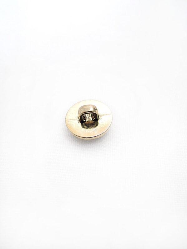 Пуговица пластик золото маленькая щербатая (p0269) к2 - Фото 7
