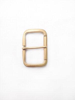 Пряжка металл прямоугольная матовое золото (p0280) - Фото 13