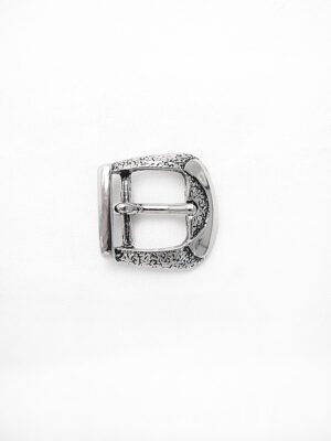 Пряжка металл серебро рытвины (p0289) - Фото 17