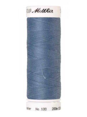 Универсальная нить AMANN GROUP METTLER Германия, SERALON, 200 м (цвет серый с синим оттенком 0350) - Фото 10