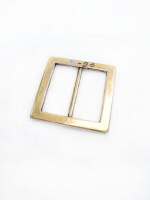 Пряжка металл бронза без язычка квадратная со стразами (p0378) - Фото 14