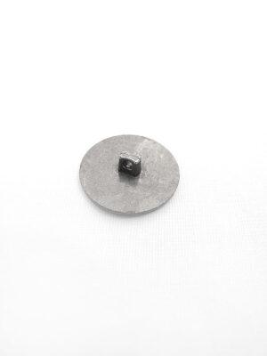 Пуговица пластик на ножке имитация металла цвет темное серебро якорь дельфин (p0421) - Фото 19