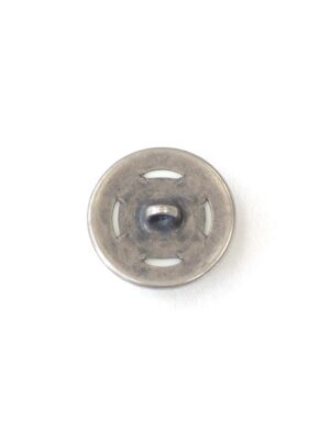 Пуговица комбинированная пластик металл на ножке молочный оттенок (P0446) - Фото 14