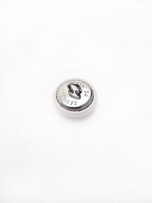 Пуговица на металлической ножке белая (p0450) - Фото 11