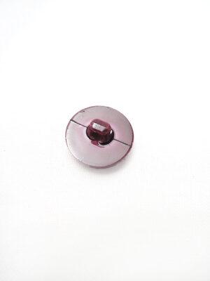 Пуговица пластик круглая на ножке цвет вишня узор мозаика (p0451) - Фото 14