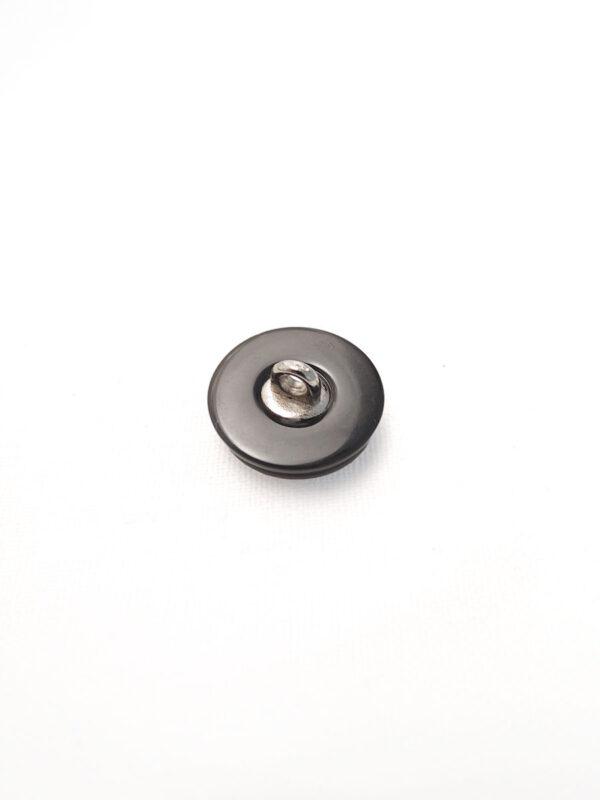 Пуговица пластик на металлической ножке круглая серо-коричневый перламутр (p0471) - Фото 7