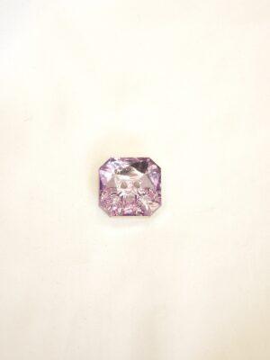 Пуговиц пластик кристалл квадратная сиреневая с розовым оттенком (p0477) - Фото 11