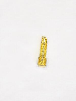 Брошь губная помада металл эмаль (t0521) Д-1 - Фото 13
