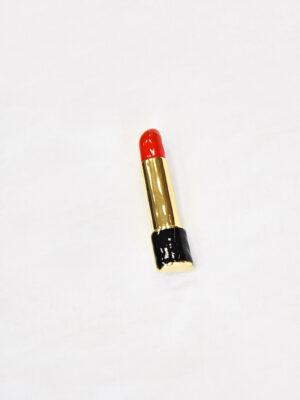Брошь губная помада металл эмаль (t0521) Д-1 - Фото 12