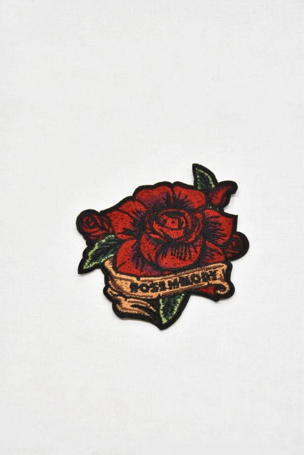 Термоаппликация алая роза (t0545) А-2 - Фото 6