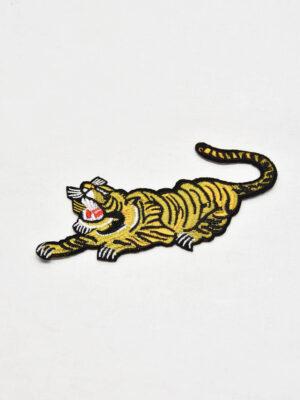 Термоаппликация золотисто-желтый тигр (t0546) А-1 - Фото 12